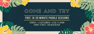 Come and Try Outrigger Caloundra September 2016